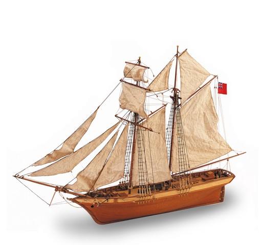 Как сделать модель деревянного парусника